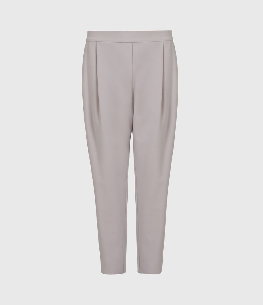 Women's Aleida Tri Mid-Rise Trousers (dusty_pink) - Image 2