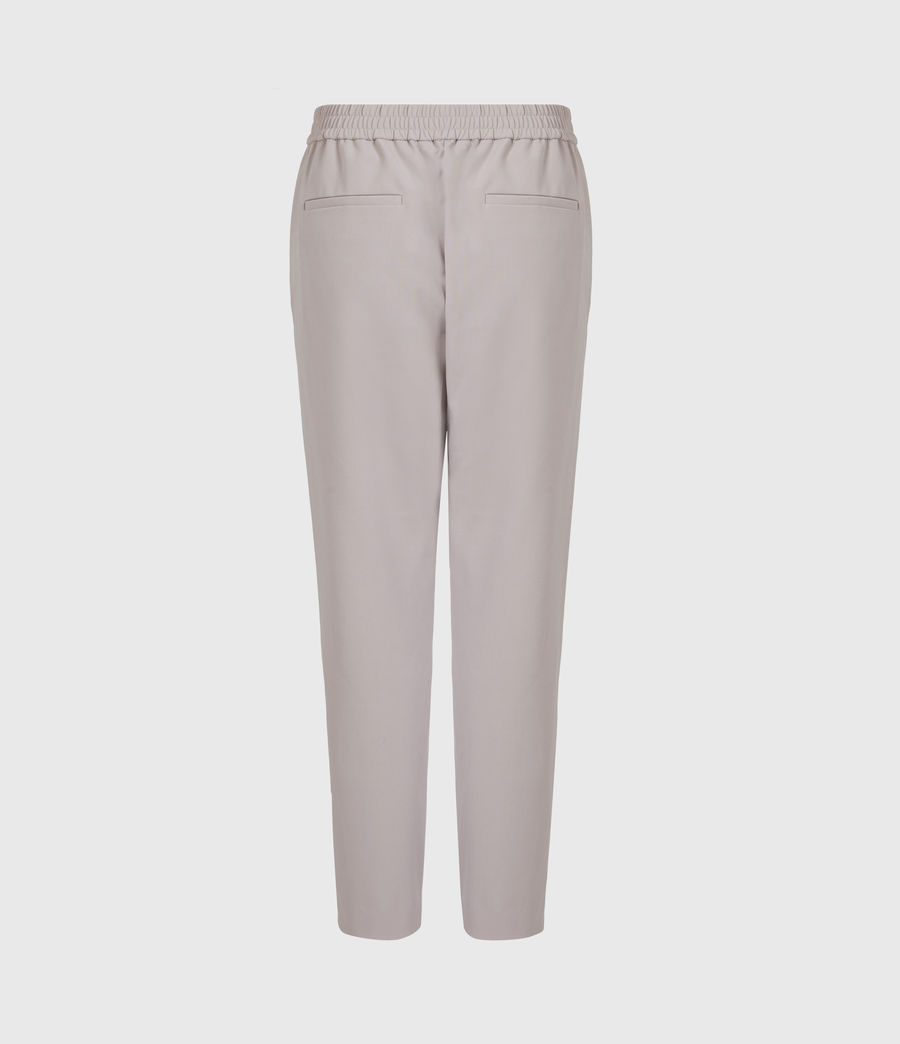 Women's Aleida Tri Mid-Rise Trousers (dusty_pink) - Image 3