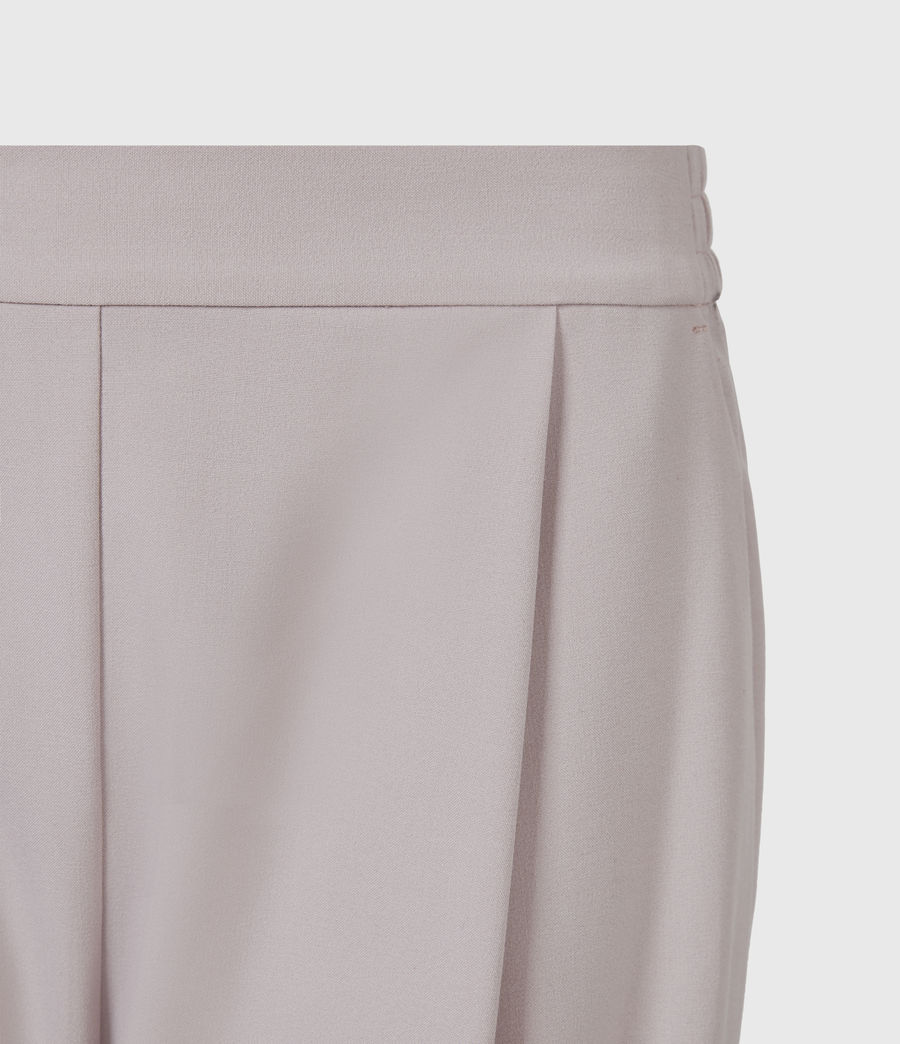 Women's Aleida Tri Mid-Rise Trousers (dusty_pink) - Image 5