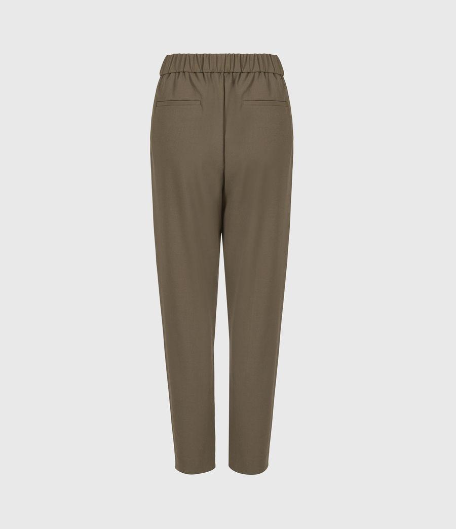 Womens Aleida Tri Mid-Rise Pants (khaki_green) - Image 3