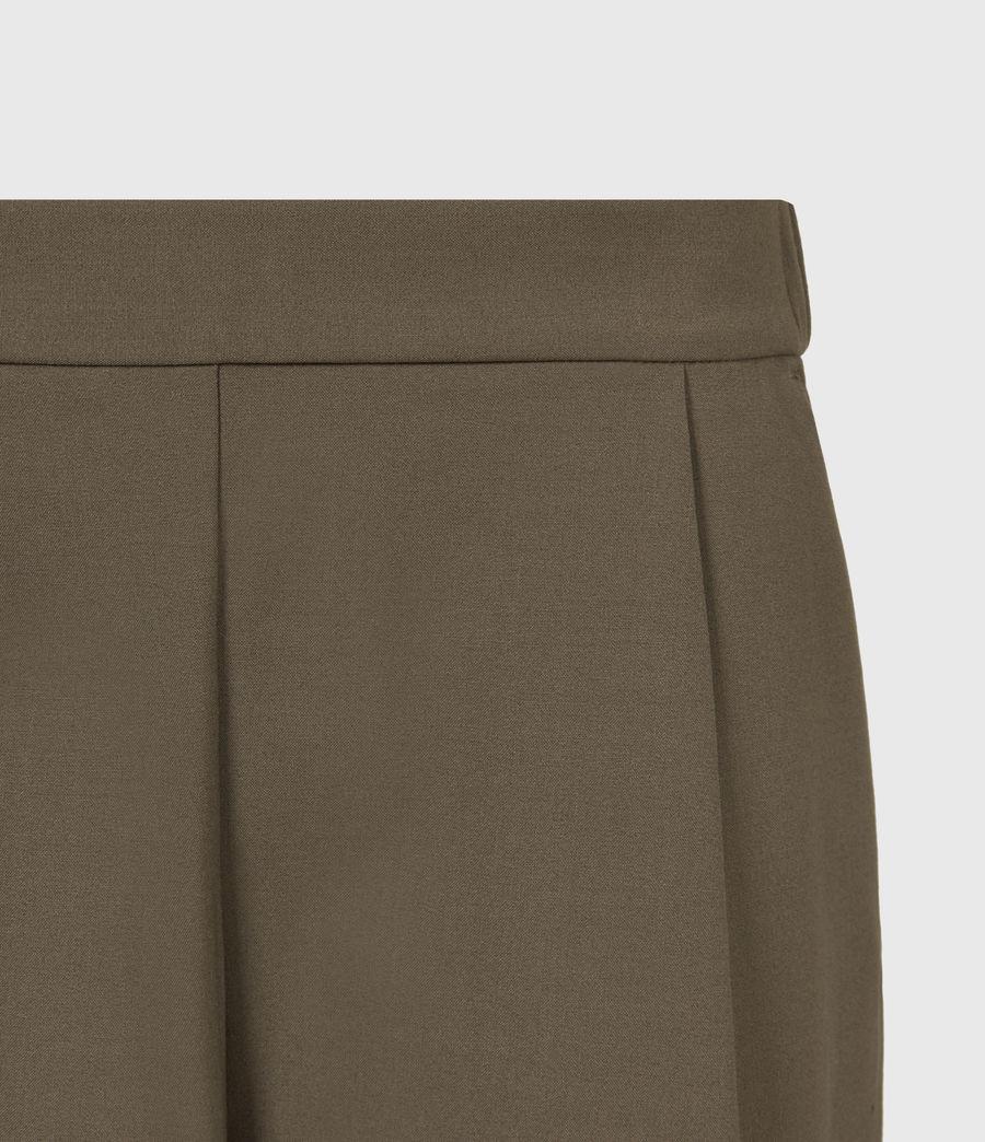 Womens Aleida Tri Mid-Rise Pants (khaki_green) - Image 5