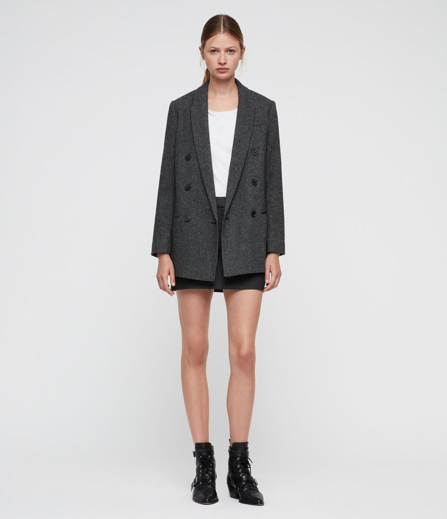 Women's Isla Blazer (charcoal_grey) - Image 1