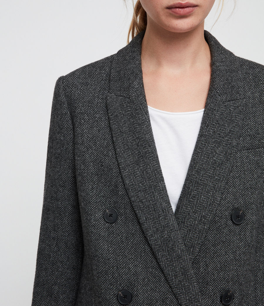 Women's Isla Blazer (charcoal_grey) - Image 2