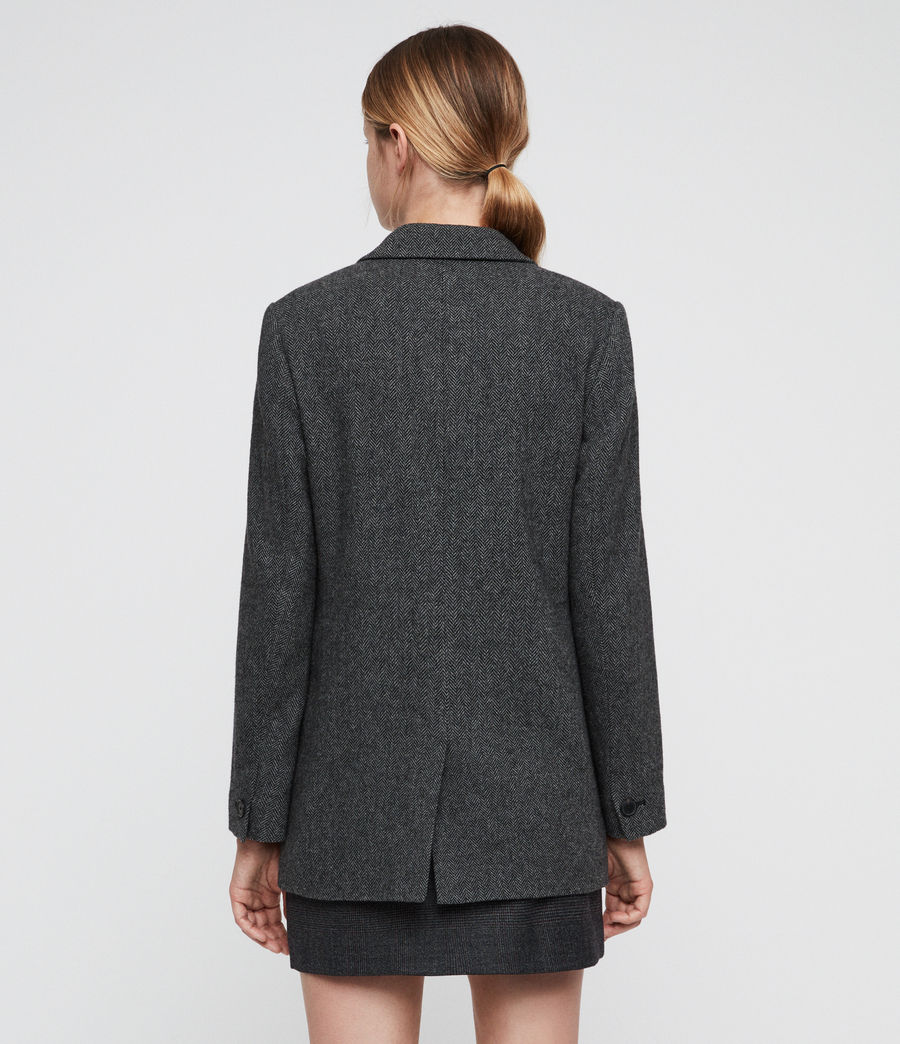 Women's Isla Blazer (charcoal_grey) - Image 5