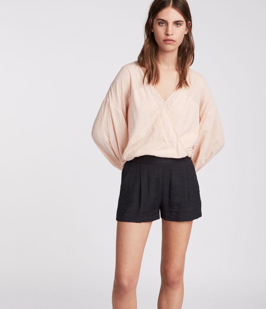 Womens Obel Shorts (ink_blue) - Image 1
