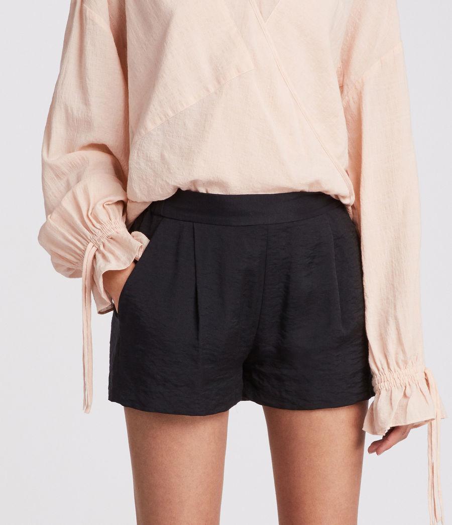 Womens Obel Shorts (ink_blue) - Image 2