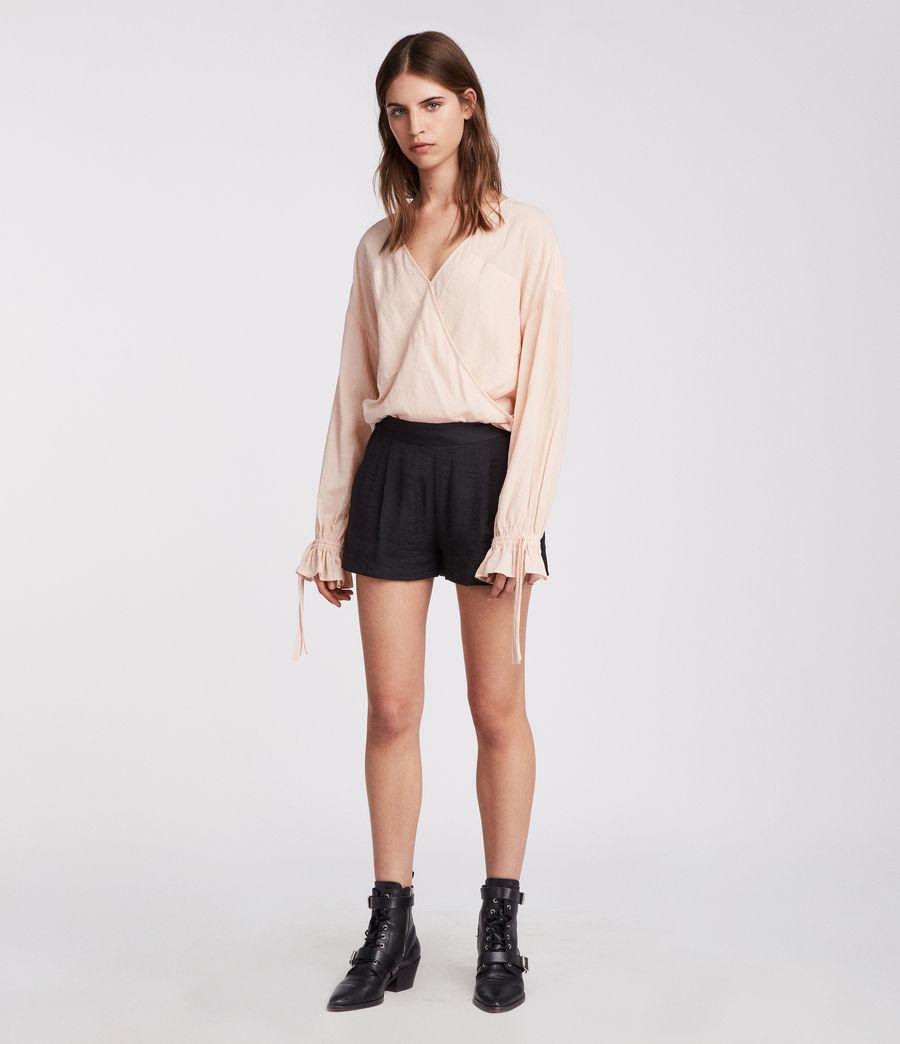 Womens Obel Shorts (ink_blue) - Image 3