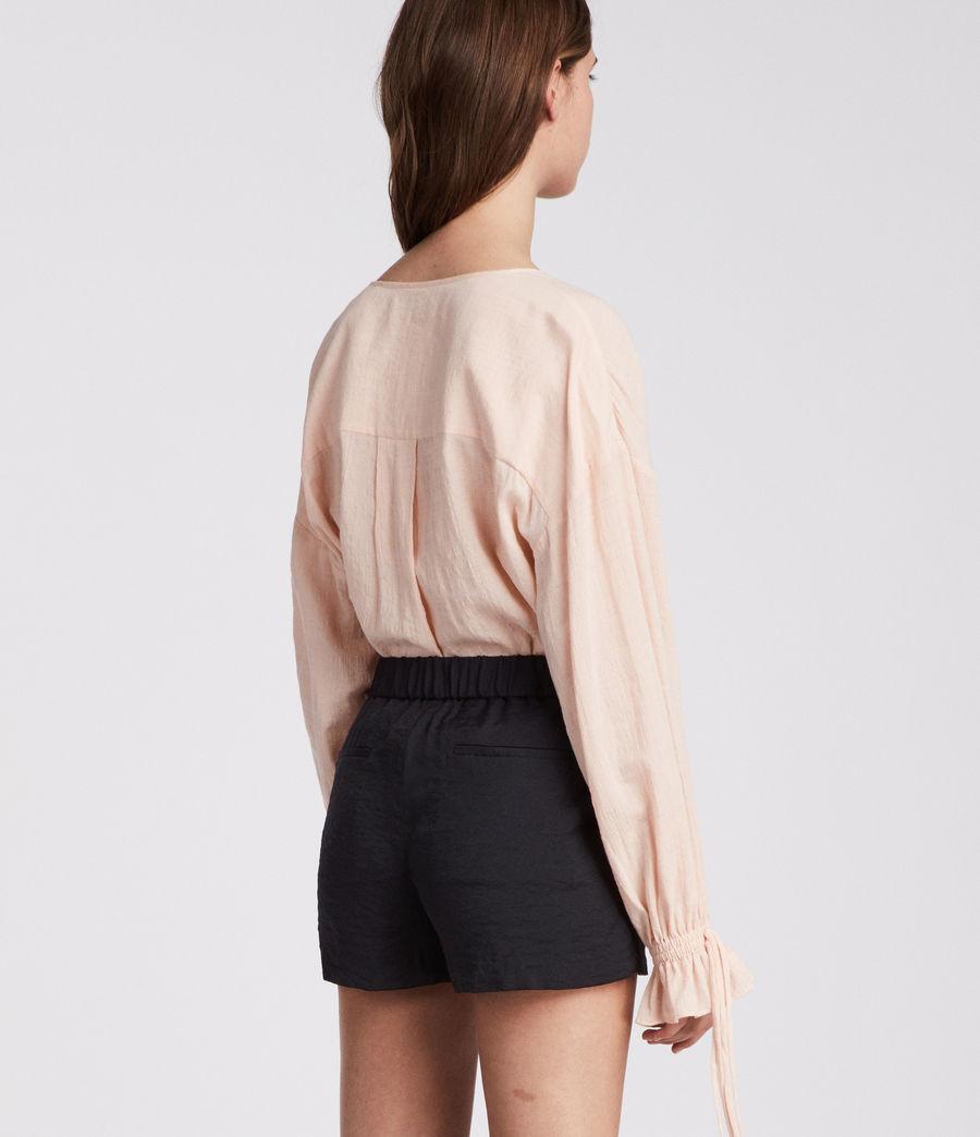Womens Obel Shorts (ink_blue) - Image 4