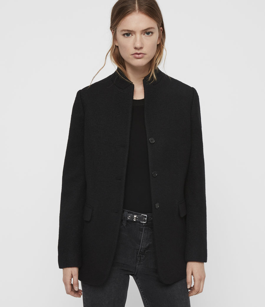 Women's Willa Blazer (black) - Image 4