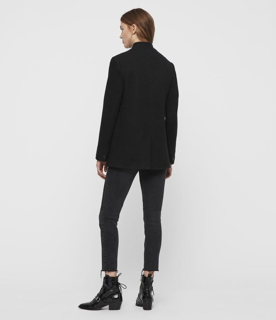 Femmes Blazer en Laine Willa (black) - Image 5