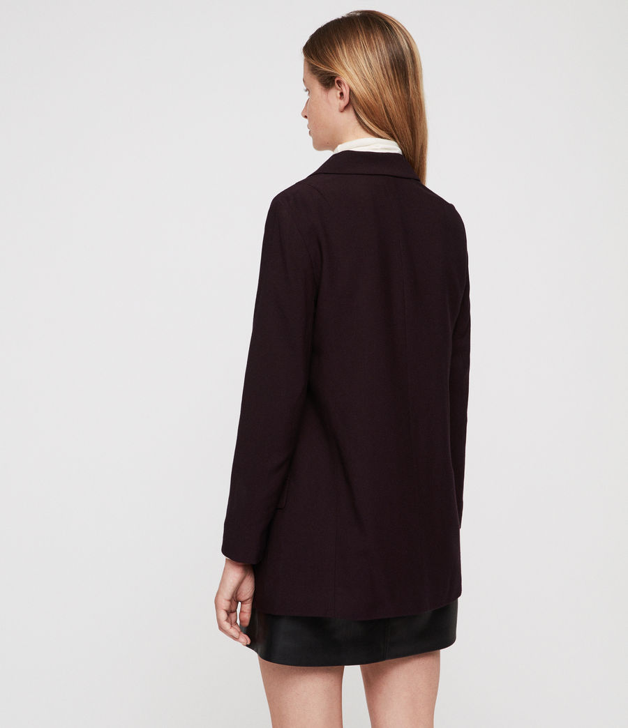 Damen Aleida Blazer (bordeaux_red) - Image 5