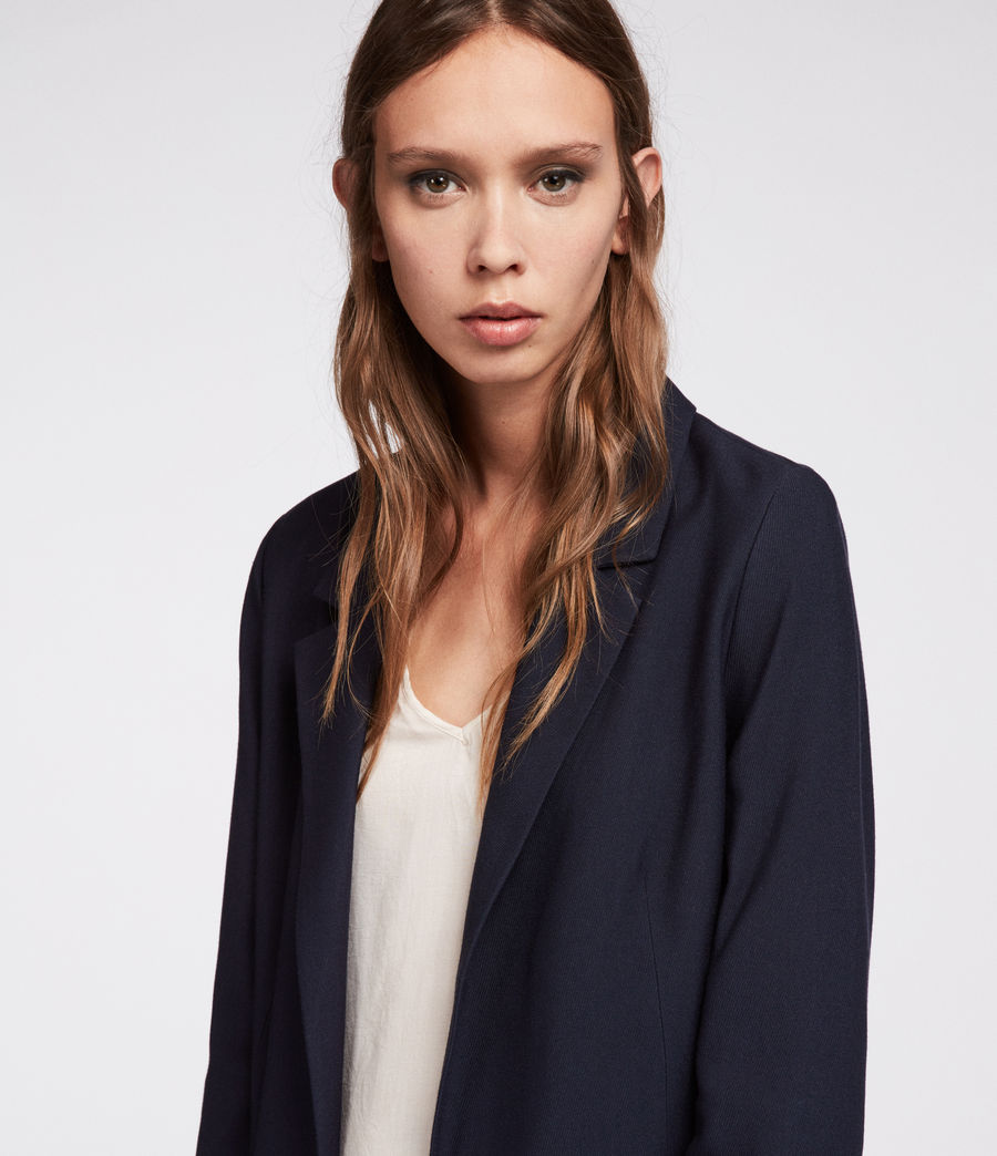 Women's Aleida Blazer (ink_blue) - Image 2