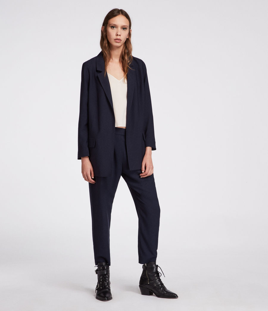Women's Aleida Blazer (ink_blue) - Image 4