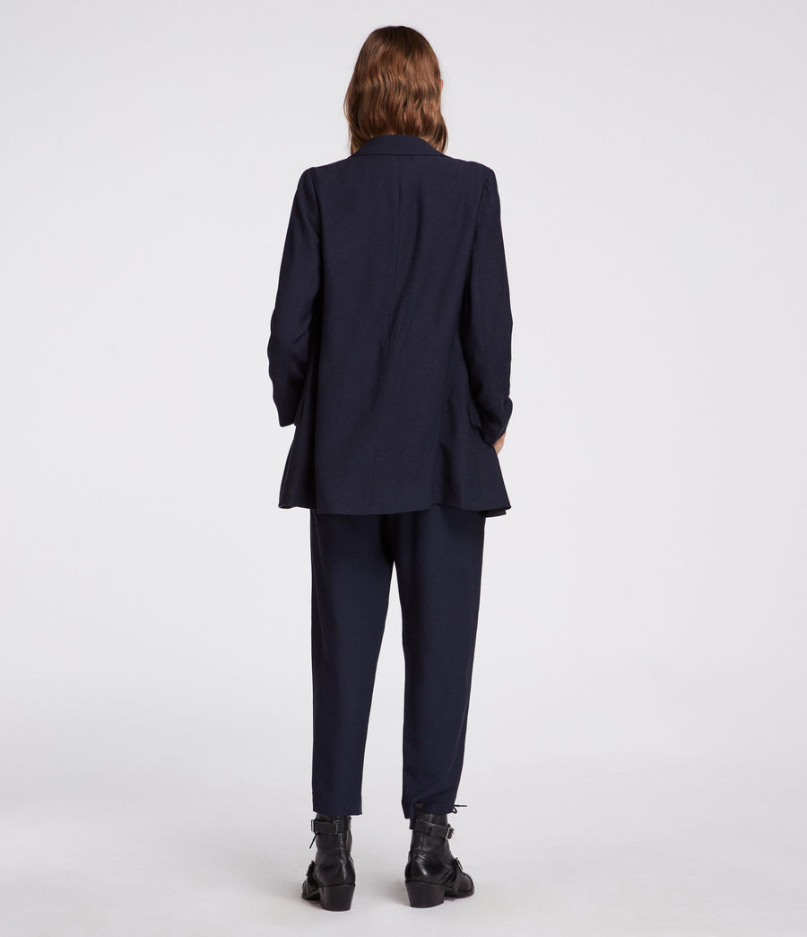 Womens Aleida Blazer (ink_blue) - Image 5