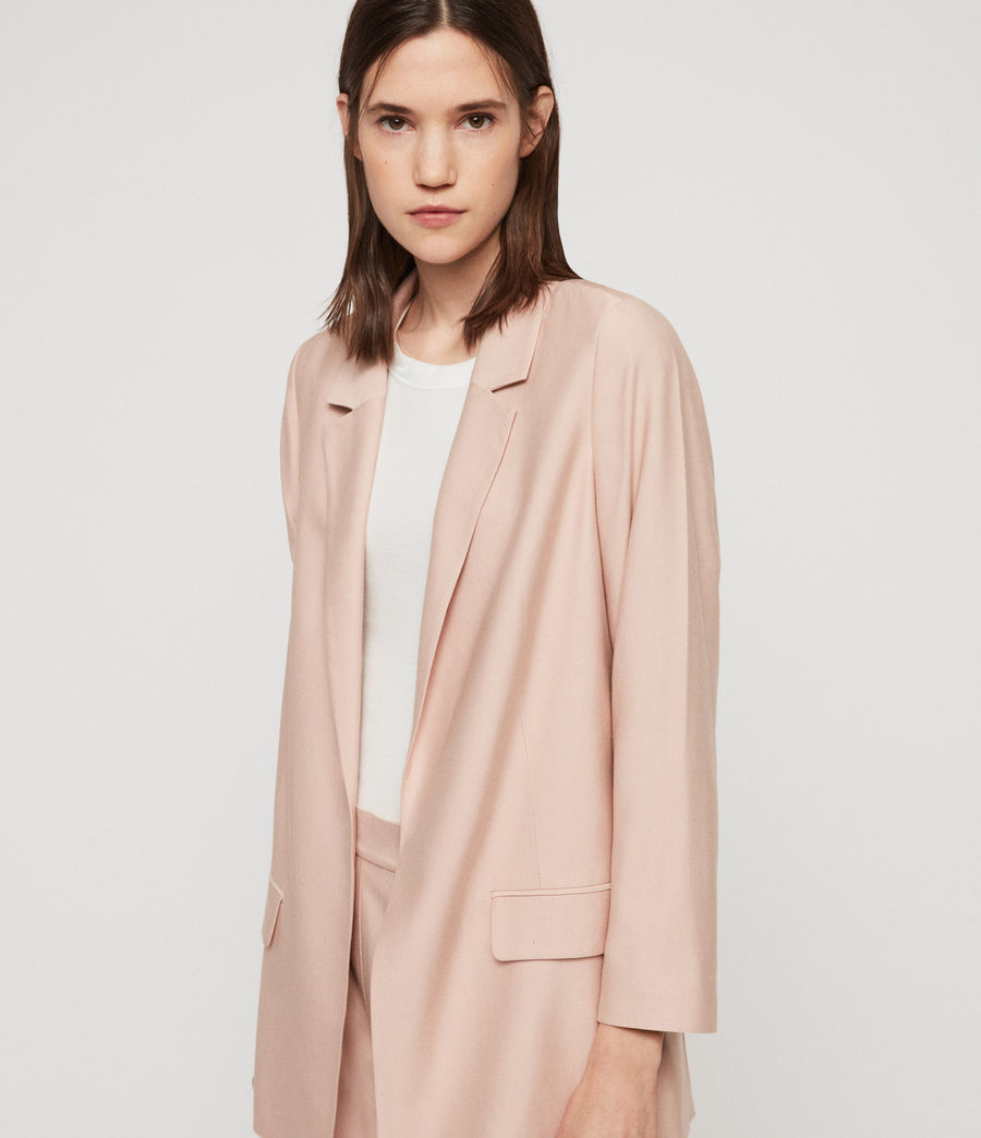 Women's Aleida Blazer (blush_pink) - Image 2