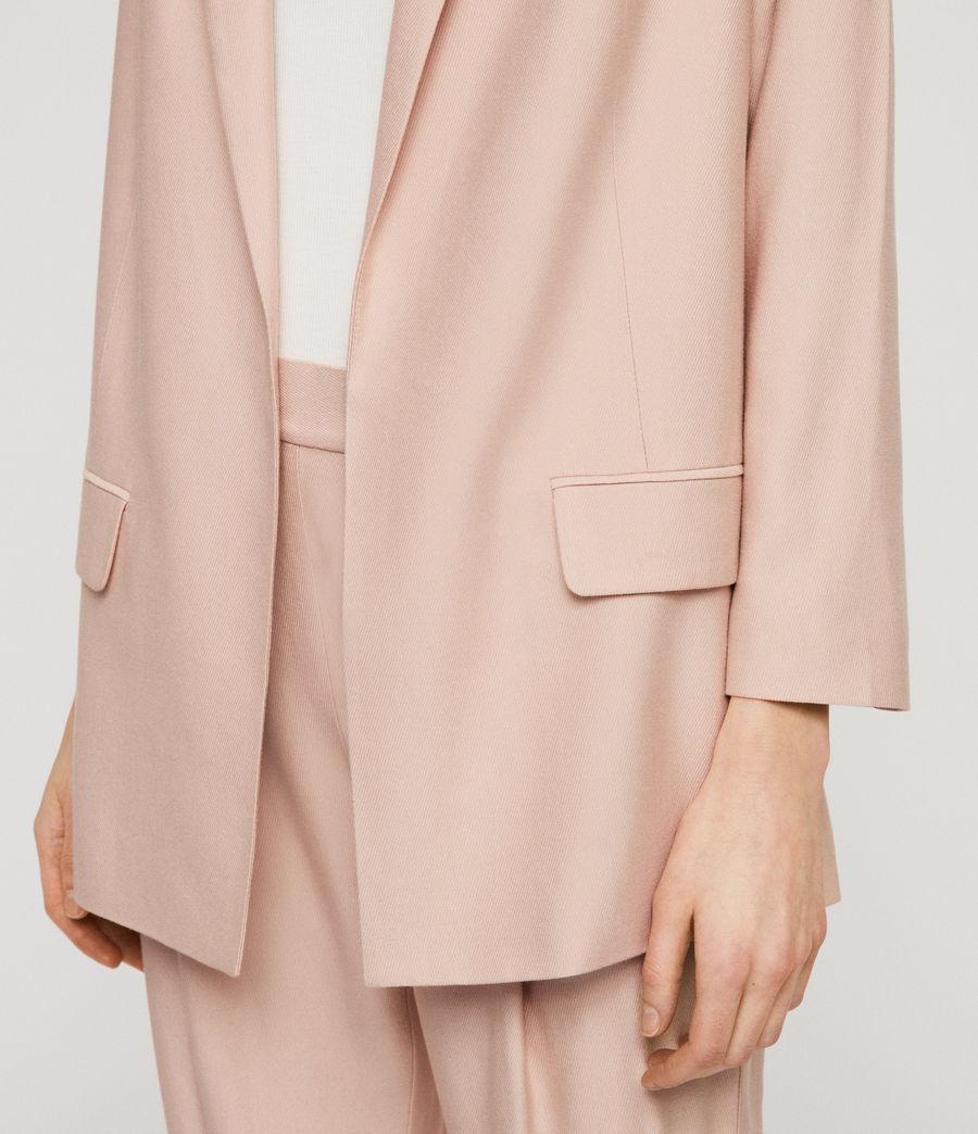 Women's Aleida Blazer (blush_pink) - Image 4