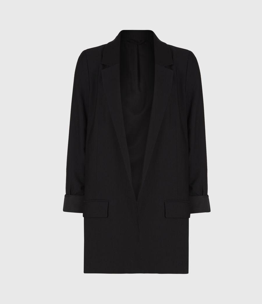 Women's Aleida Blazer (black) - Image 2