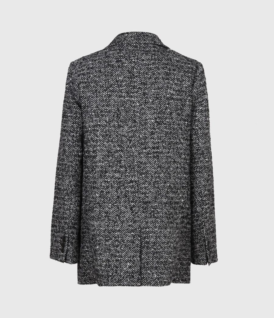 Women's Parker Wool Blend Blazer (black_white) - Image 3