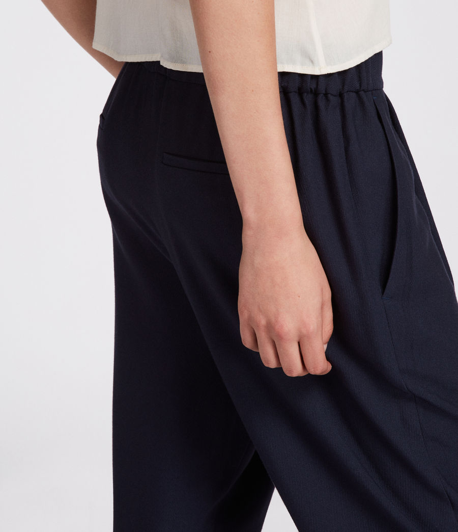 Women's Aleida Trouser (ink_blue) - Image 2