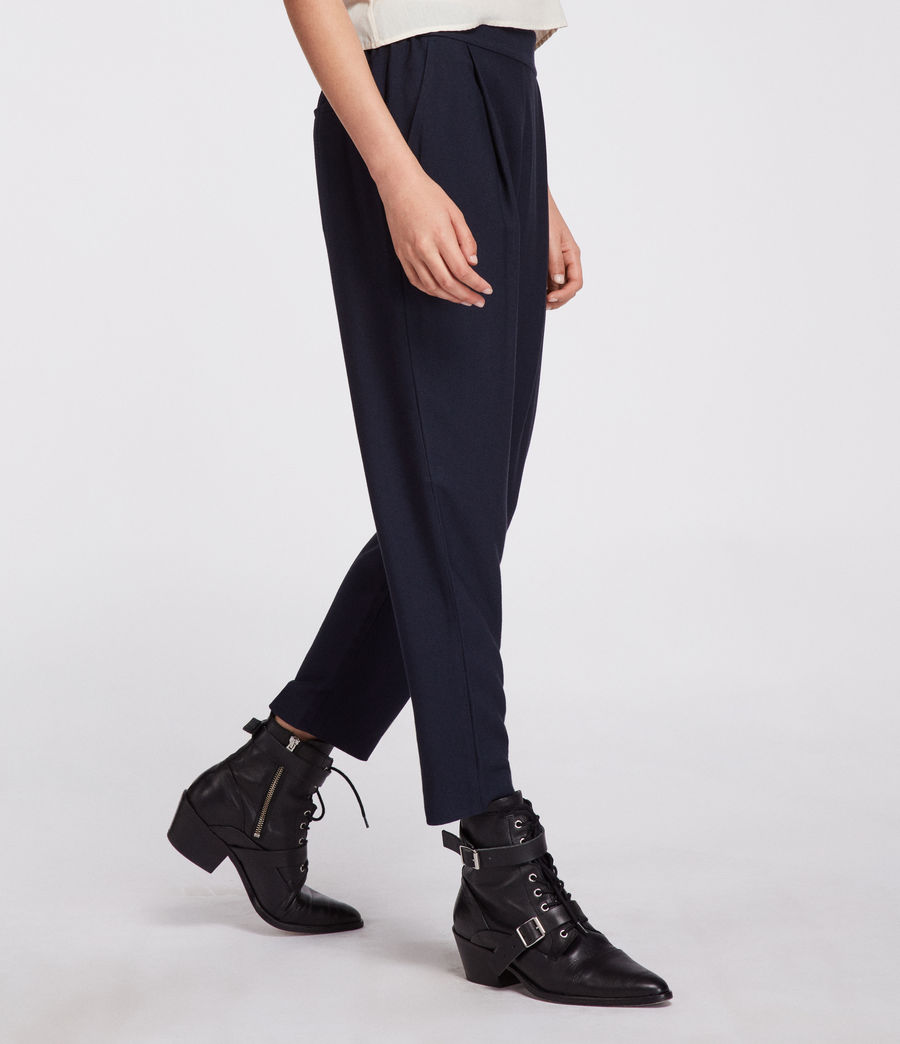 Women's Aleida Trouser (ink_blue) - Image 3