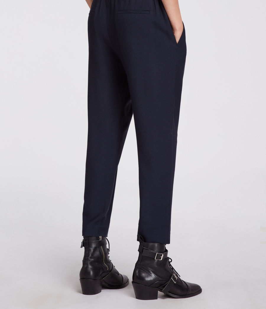 Women's Aleida Trouser (ink_blue) - Image 4