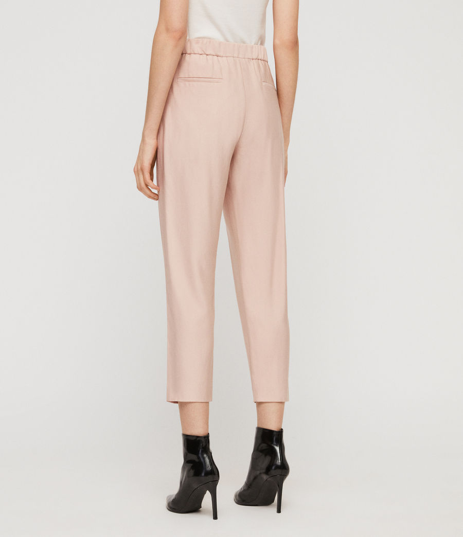 Women's Aleida Trousers (blush_pink) - Image 4