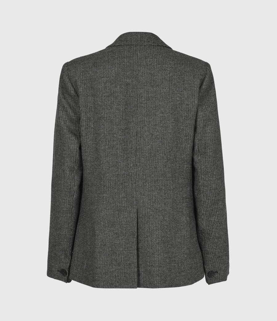 Women's Maryn Wool Blend Blazer (black_charcoal) - Image 3
