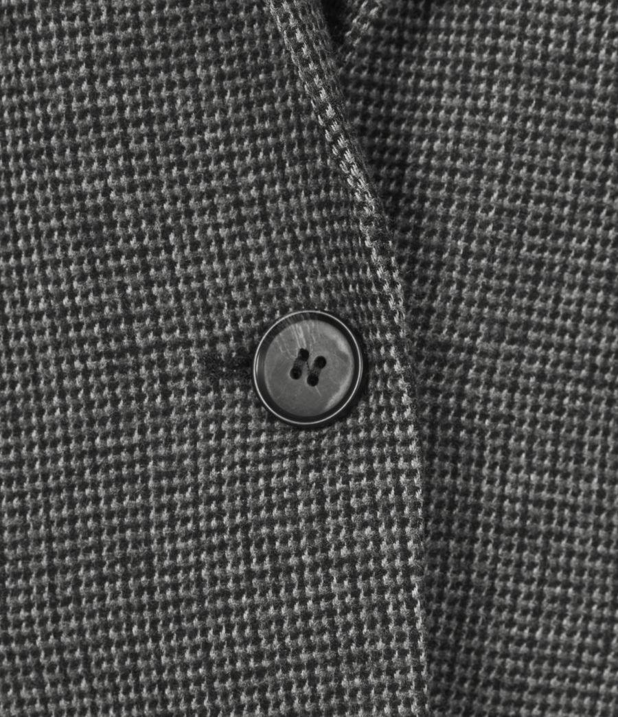 Women's Maryn Wool Blend Blazer (black_charcoal) - Image 6