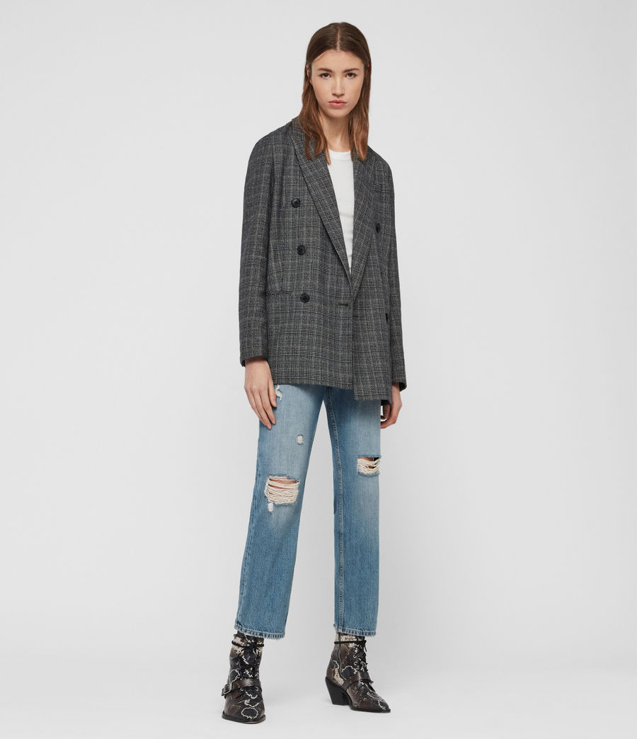 Mujer Blazer Astrid Fay (charcoal_grey) - Image 1