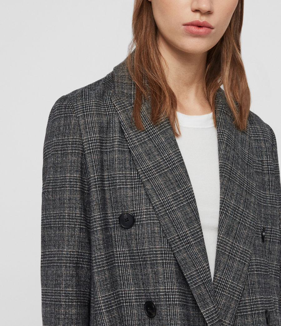 Mujer Blazer Astrid Fay (charcoal_grey) - Image 2