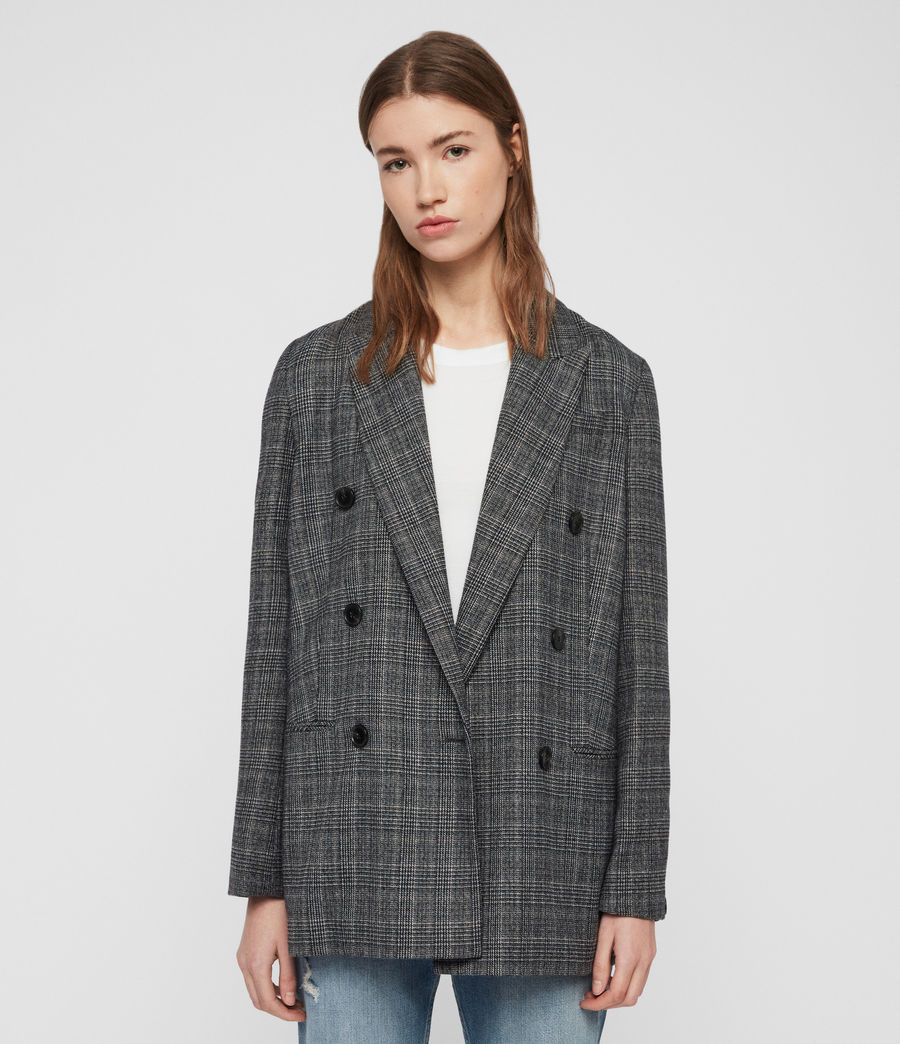 Mujer Blazer Astrid Fay (charcoal_grey) - Image 3