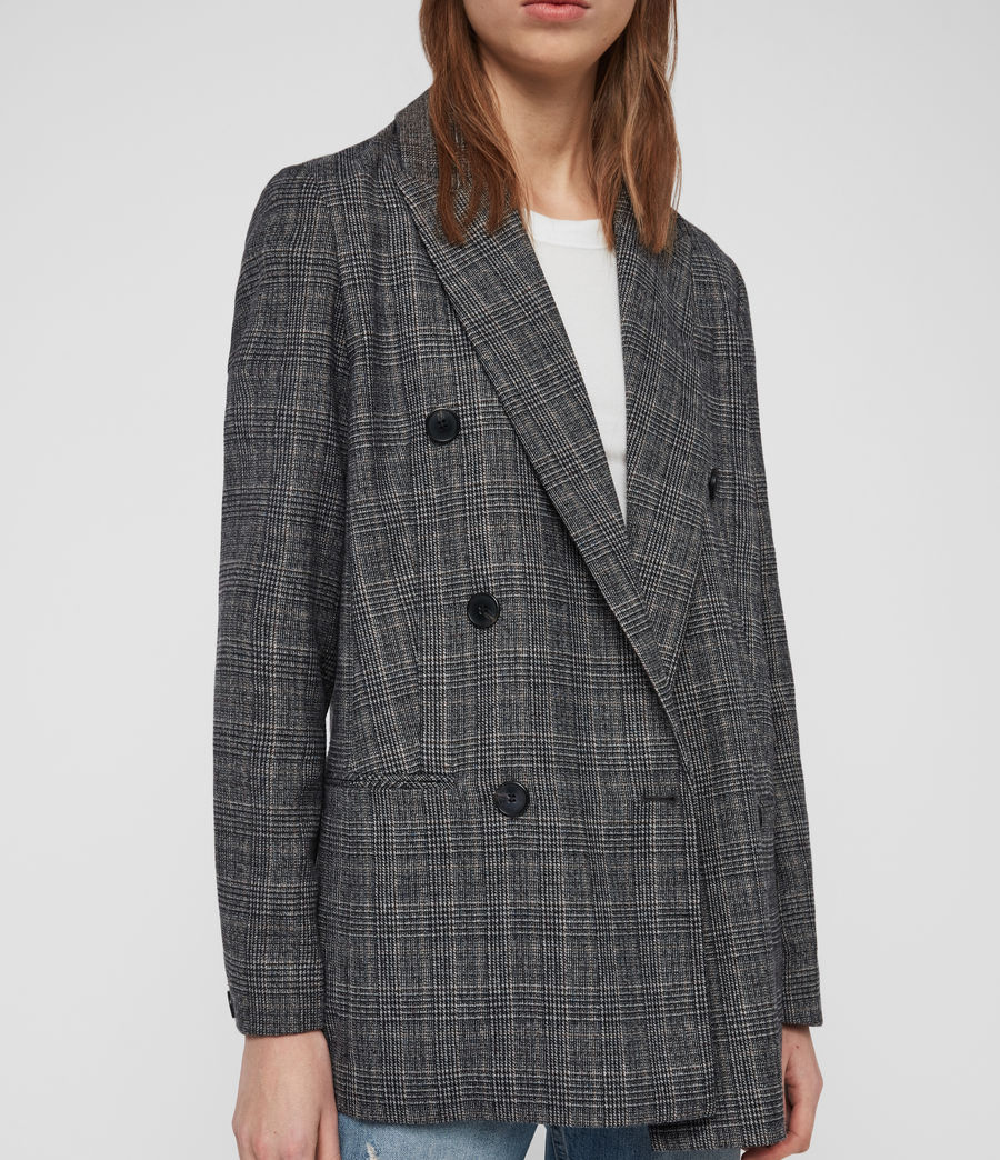 Mujer Blazer Astrid Fay (charcoal_grey) - Image 4