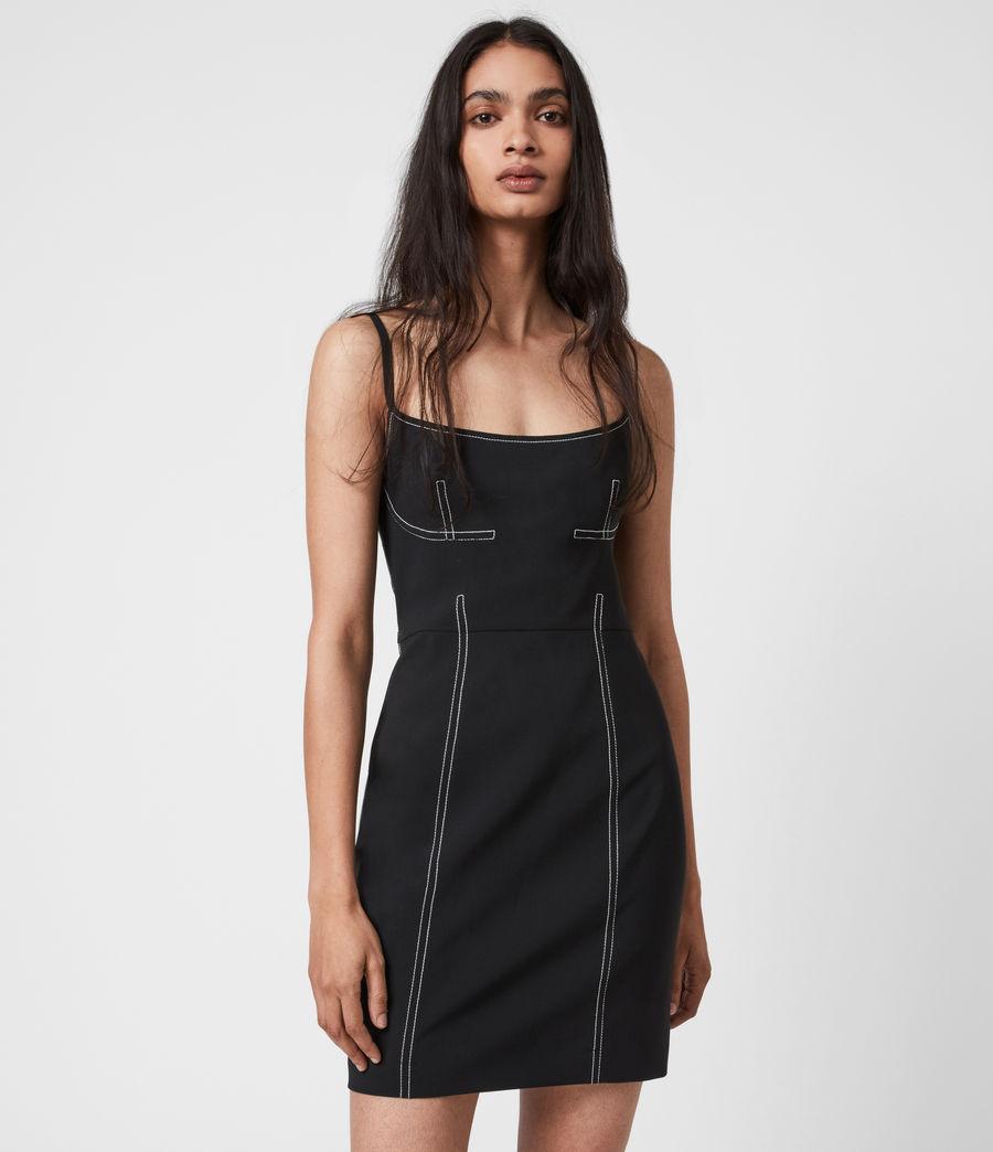 Women's Bobbie Dress (black) - Image 1