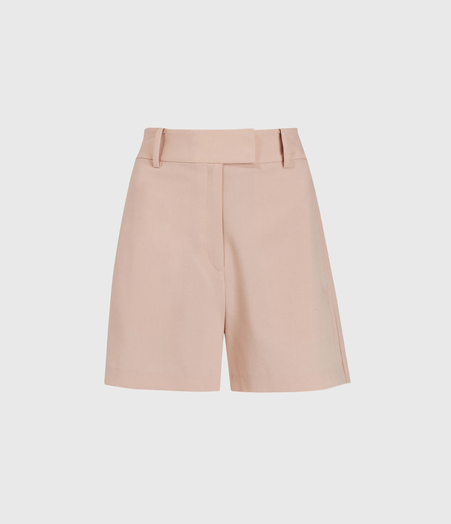 Women's Dani High-Rise Shorts (pink) - Image 1