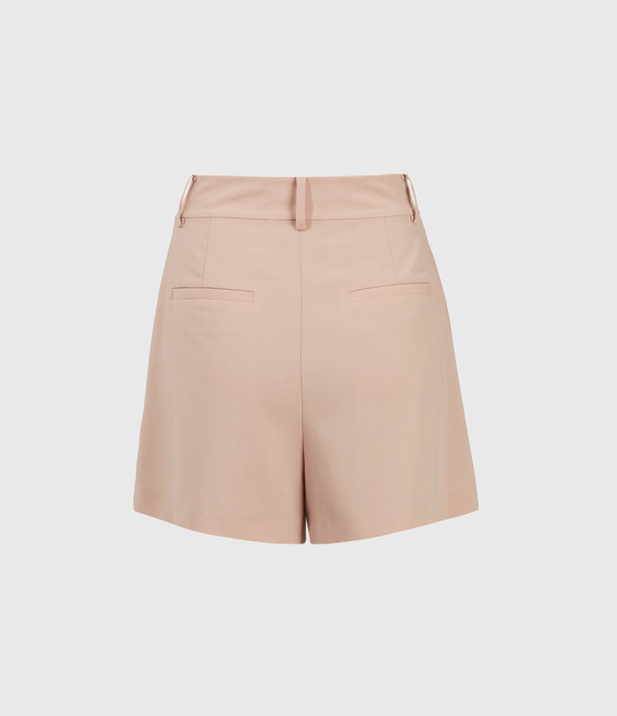 Women's Dani High-Rise Shorts (pink) - Image 2