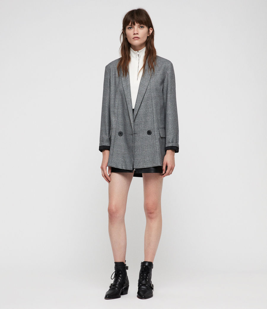 Donne Blazer Harriet (pale_grey) - Image 1