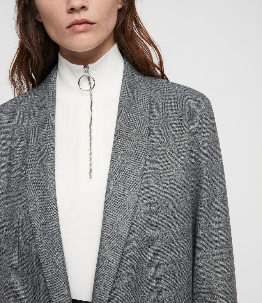Donne Blazer Harriet (pale_grey) - Image 2