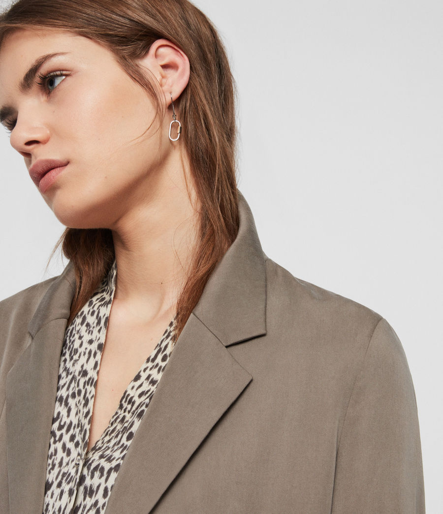 Womens Alva Blazer (khaki) - Image 3