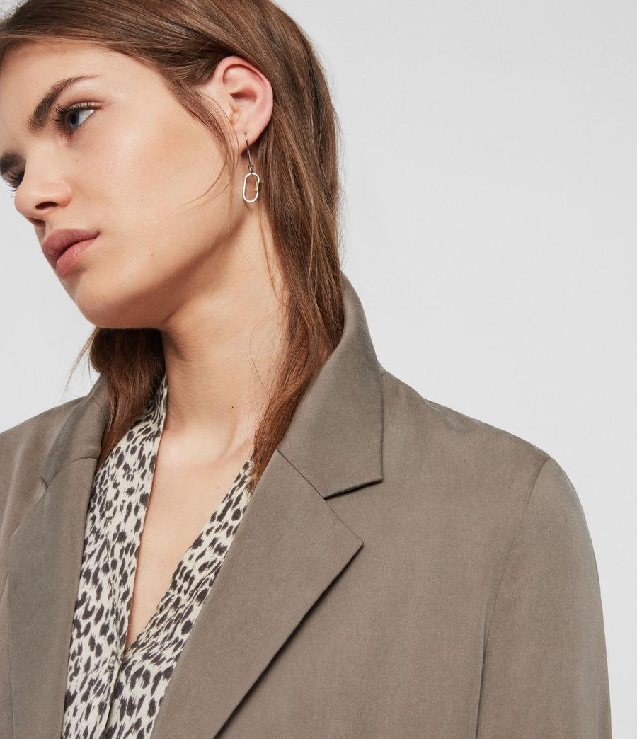 Women's Alva Blazer (khaki) - Image 3
