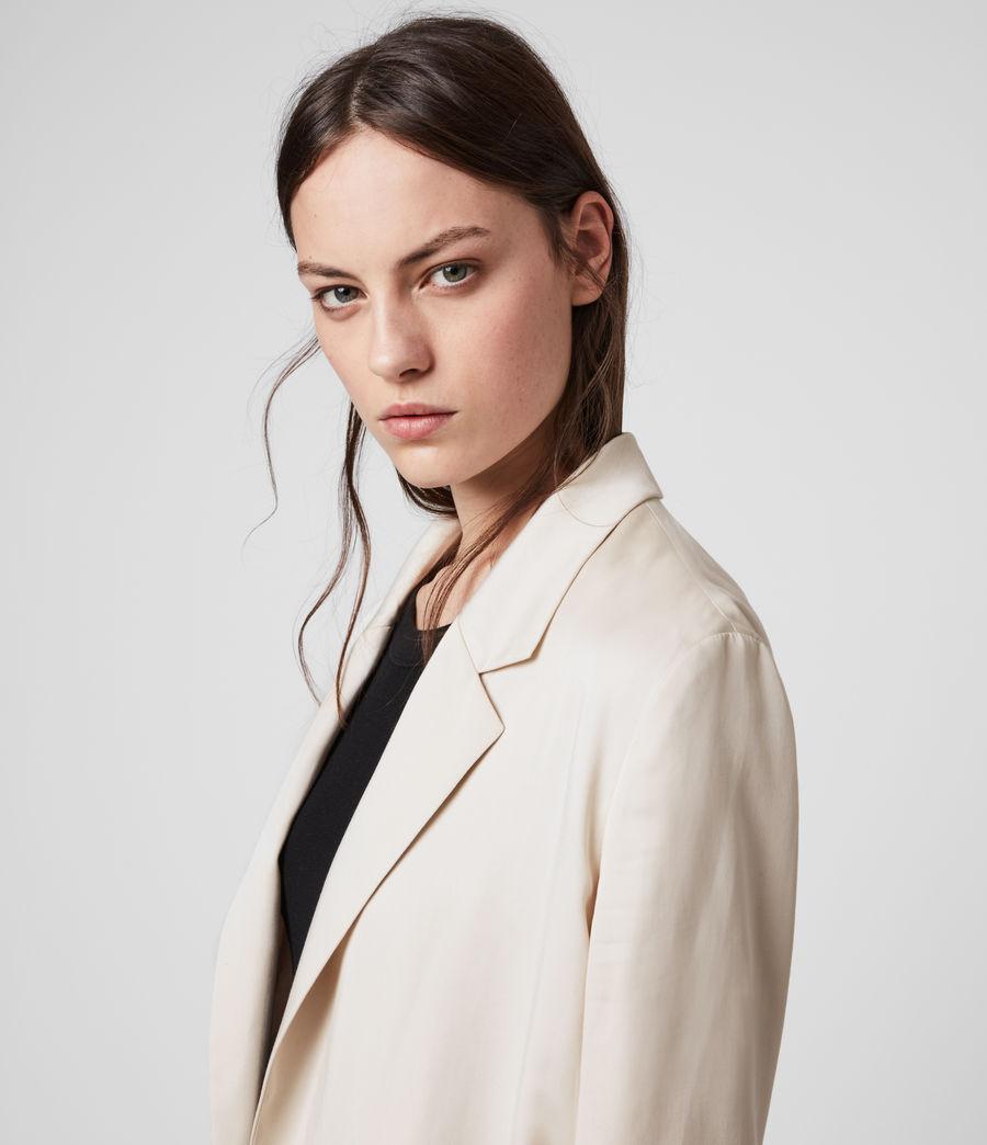 Women's Alva Blazer (ivory_white) - Image 2