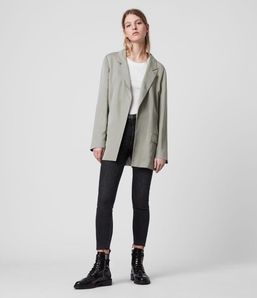 Women's Alva Blazer (pistachio_green) - Image 1