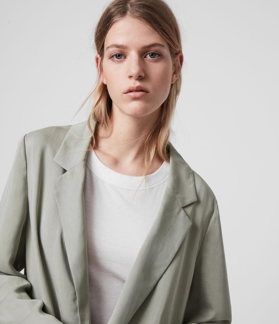 Women's Alva Blazer (pistachio_green) - Image 2