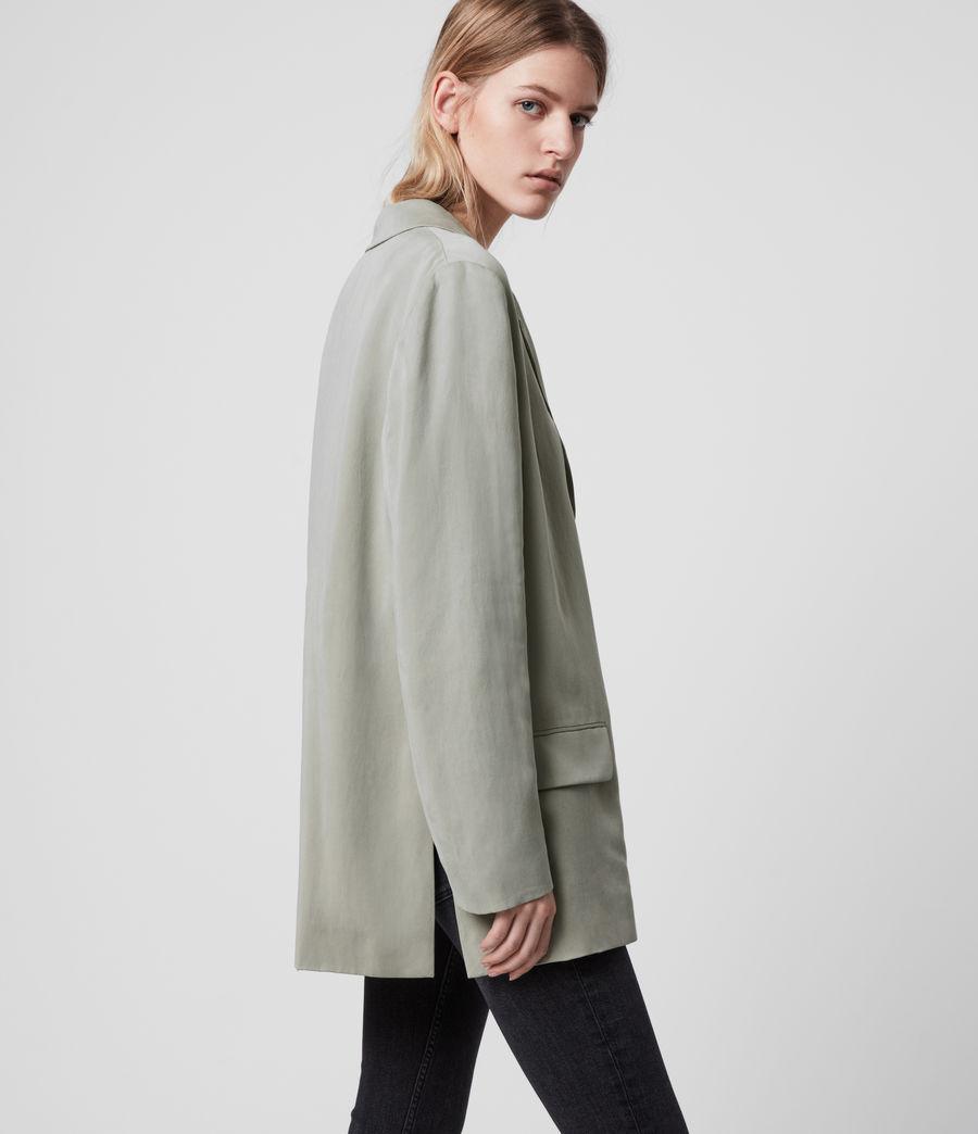 Women's Alva Blazer (pistachio_green) - Image 3