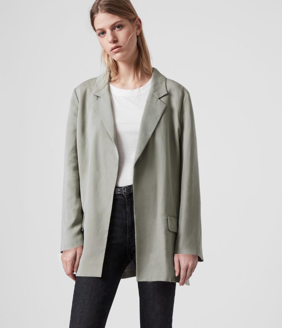 Women's Alva Blazer (pistachio_green) - Image 4