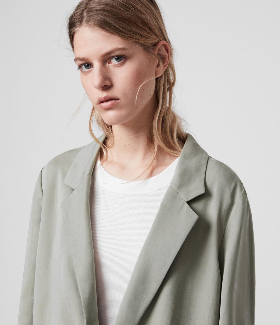 Women's Alva Blazer (pistachio_green) - Image 5