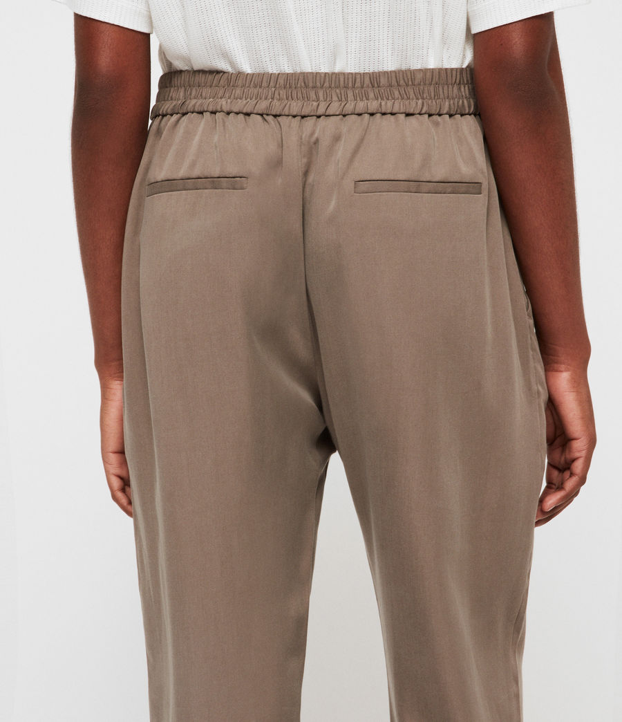 Women's Alva Trousers (khaki) - Image 5