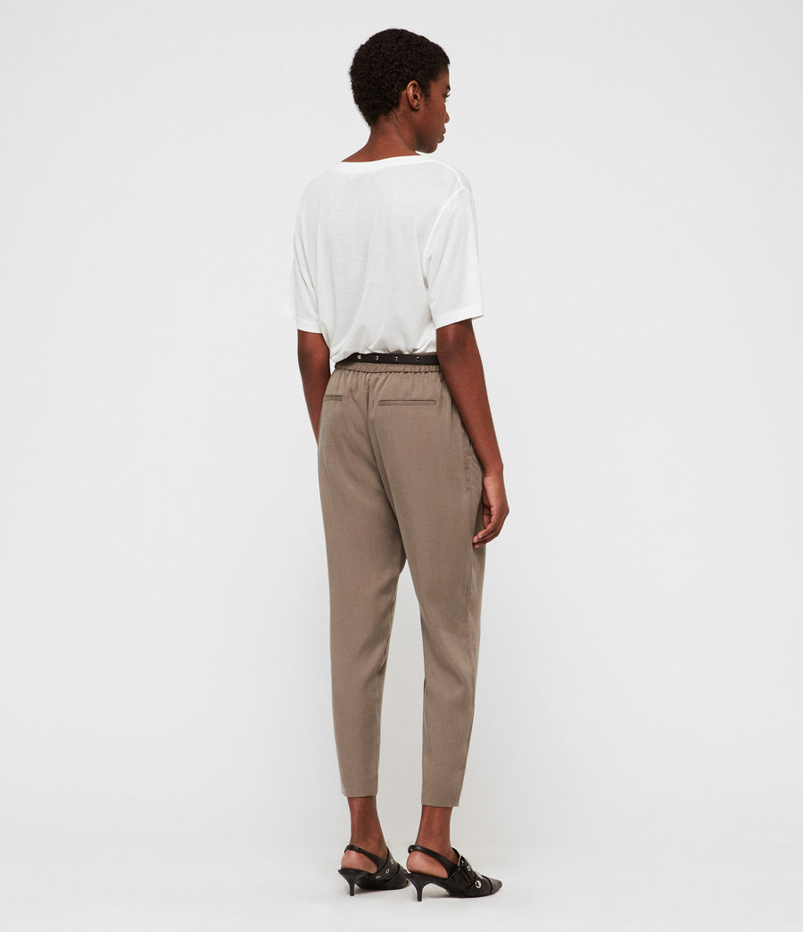 Womens Alva Tapered High-Rise Pants (nude_pink) - Image 6