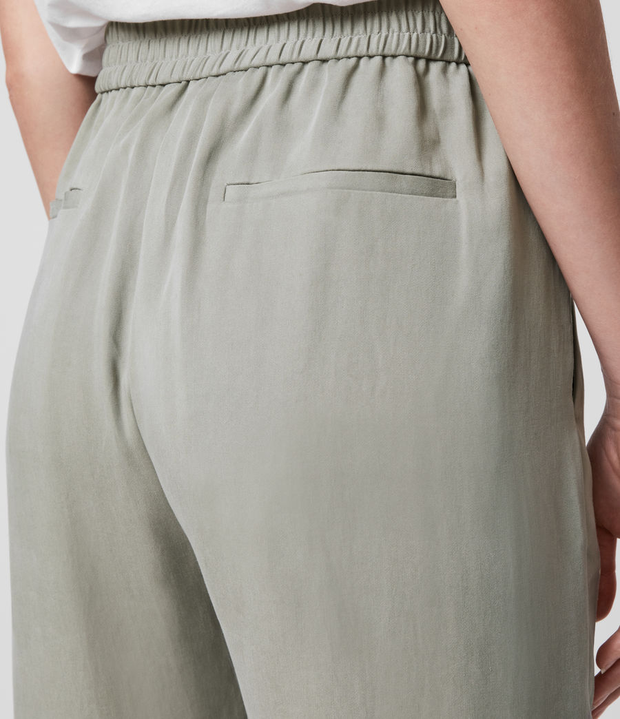 Women's Alva Low-Rise Trousers (pistachio_green) - Image 5