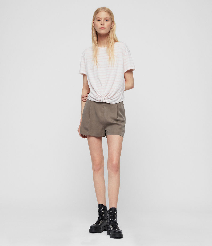 Women's Alva Low-Rise Shorts (khaki) - Image 1