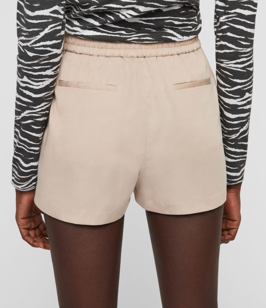 Womens Alva High-Rise Shorts (nude_pink) - Image 4